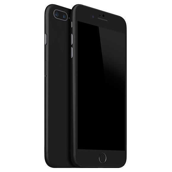 iPhone 8 Plus GLOSS Black Skin