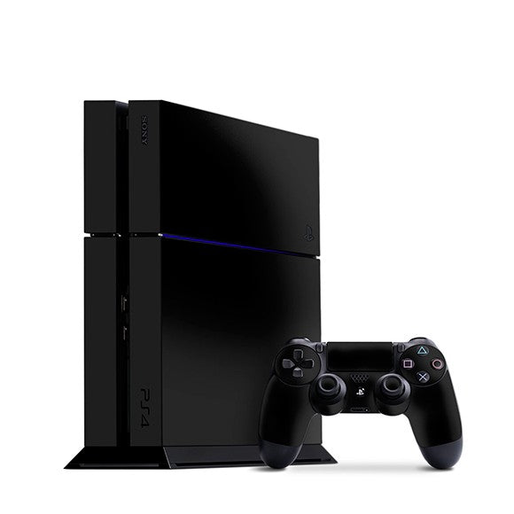 PlayStation 4 GLOSS Black Skin