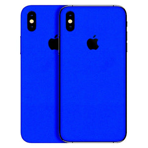 info for c036c 32fcf iPhone XS Max GLOSS Blue Skin