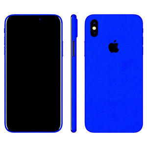 iPhone X GLOSS Blue Skin