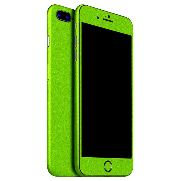 iPhone 8 Plus GLOSS piel verde