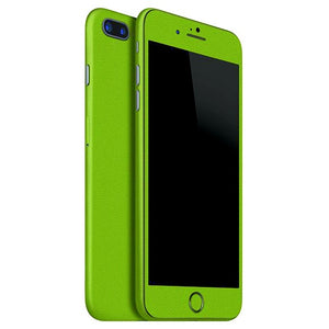 iPhone 7 Plus GLOSS piel verde