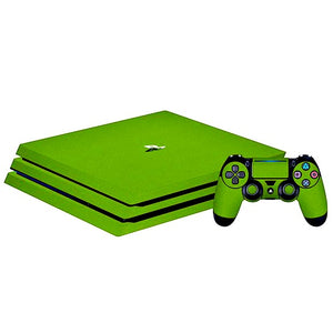 PlayStation 4 Slim GLOSS Green Skin
