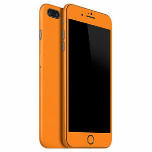 iPhone 7 Plus GLOSS Orange Skin
