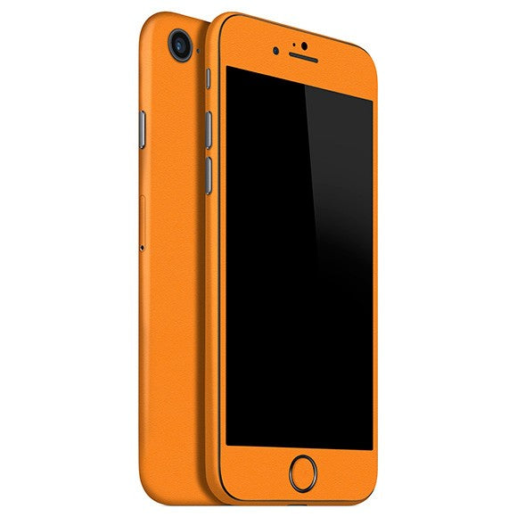 iPhone 8 GLOSS Orange Skin