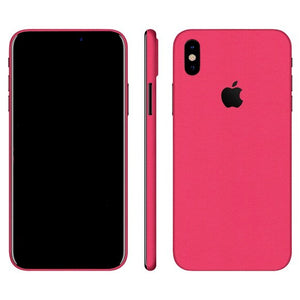 iPhone X GLOSS Pink Skin