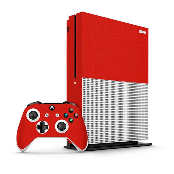 Xbox One S GLOSS Red Skin