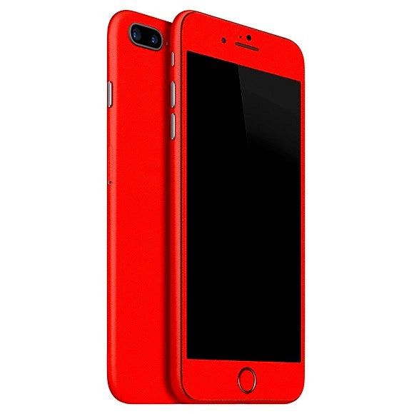 iPhone 7 Plus GLOSS Red Skin