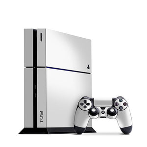PlayStation 4 GLOSS Wit vel