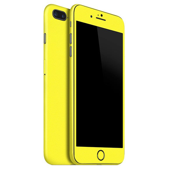 iPhone 7 Plus GLOSS Yellow Skin