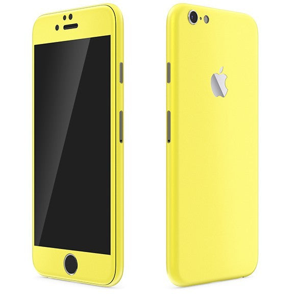 iPhone 6S Plus GLOSS Yellow Skin