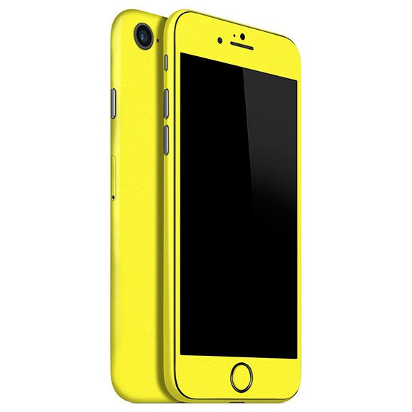 Skin Amarillo para iPhone 8 GLOSS.