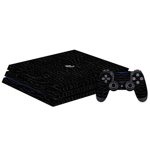 PlayStation 4 Slim LEATHER Alligator Skin