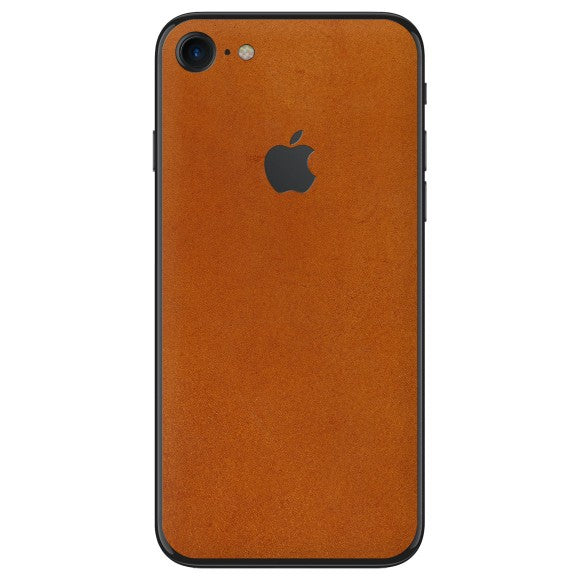 iPhone 8 LEATHER Brown Skin
