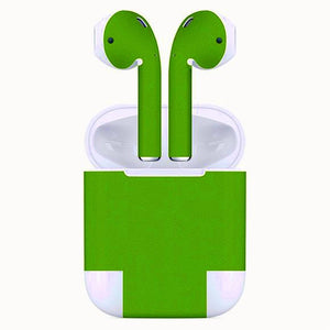 AirPods MATT Green Skin