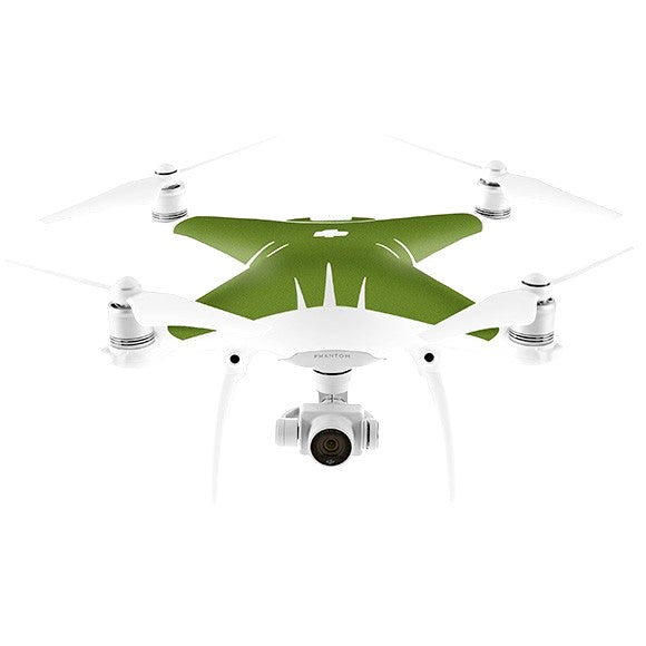 DJI Phantom 4 MATT Green Skin