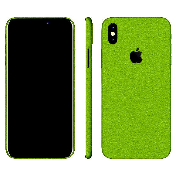 iPhone X MATT Green Skin