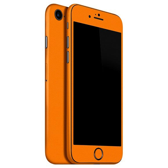 iPhone 7 MATT Orange Skin