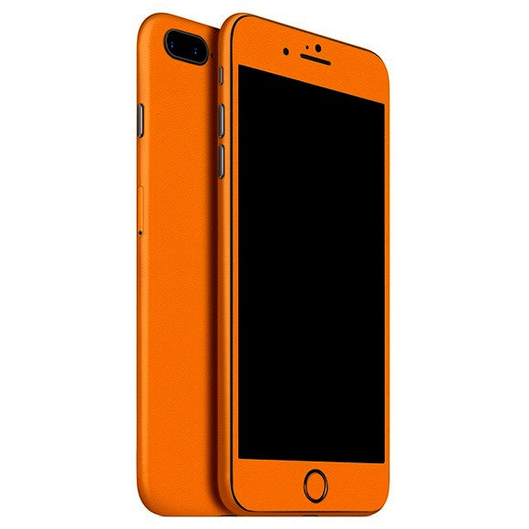iPhone 7 Plus MATT piel naranja