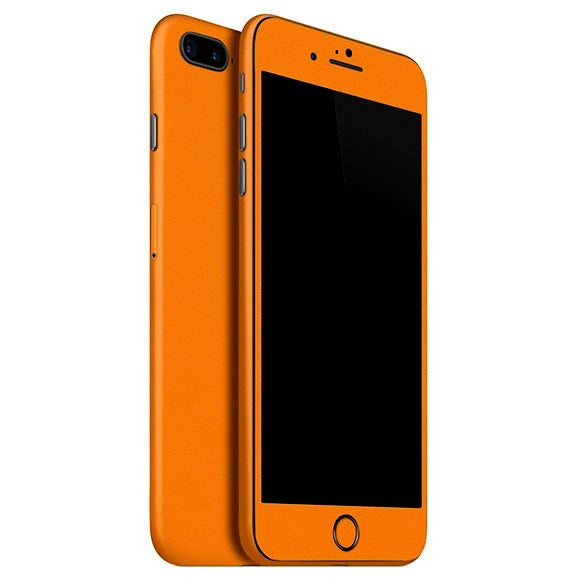 iPhone 8 Plus MATT Orange Skin