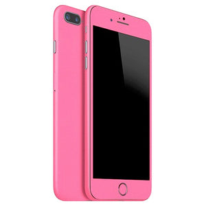 Piel rosa mate para iPhone 7 Plus