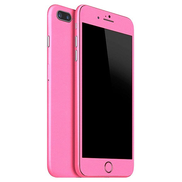 Piel rosa mate para iPhone 8 Plus