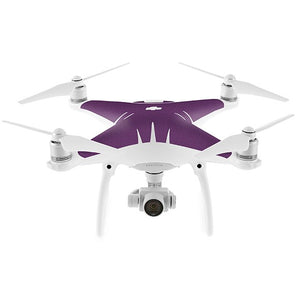DJI Phantom 4 MATT Purple Skin