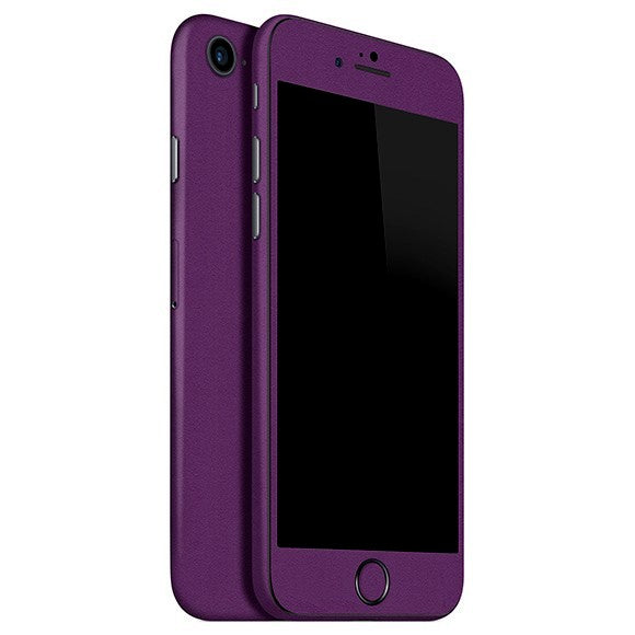 iPhone 7 MATT Purple Skin