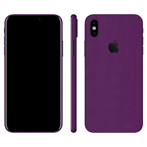 iPhone X MATE Violeta Skin
