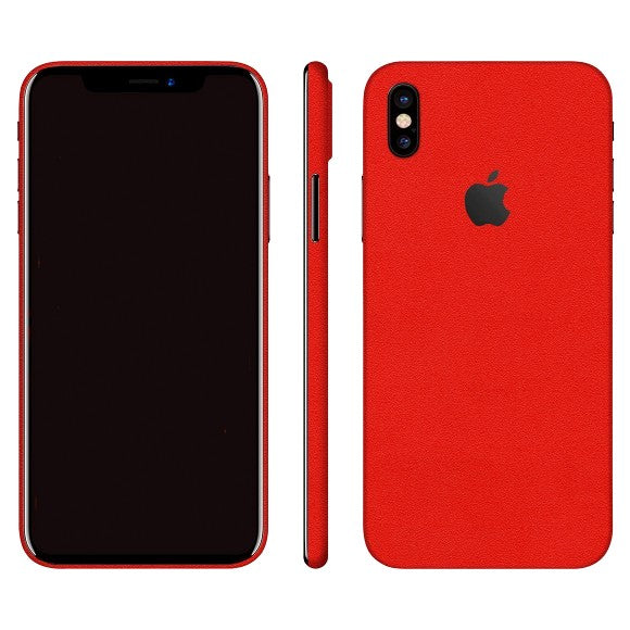 iPhone X MATE Rojo Skin