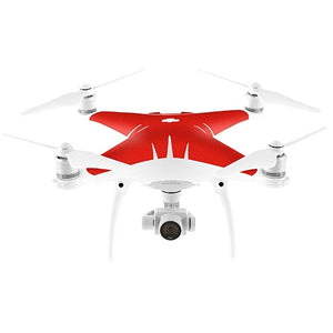 DJI Phantom 4 MATT Red Skin