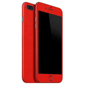 Skin Rojo para iPhone 7 Plus MATT