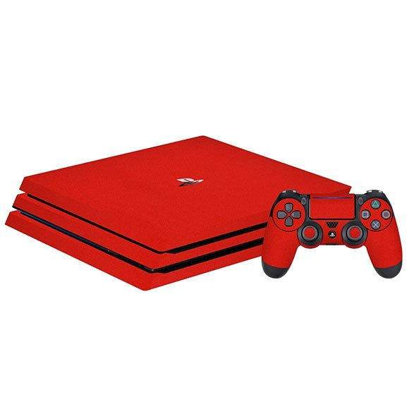 PlayStation 4 Slim MATT Red Skin