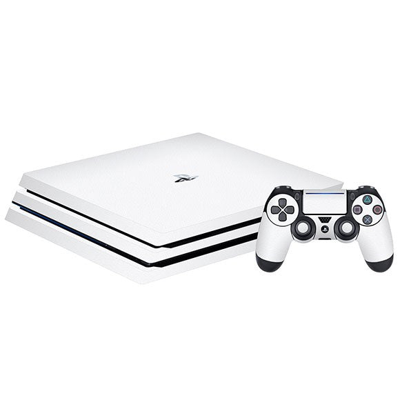 PlayStation 4 Pro MATT White Skin