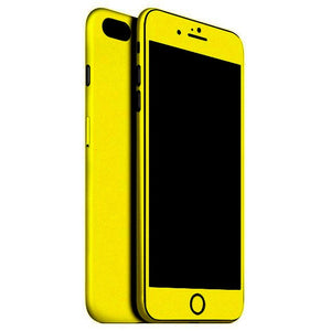 iPhone 7 Plus MATT Yellow Skin