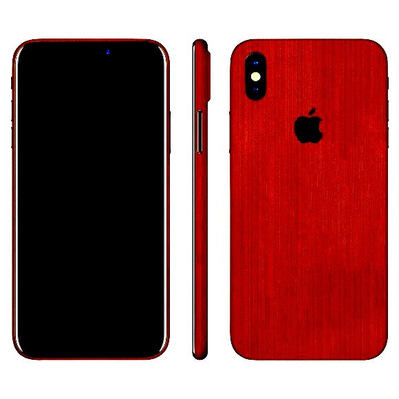 iPhone X STEEL Koppar Skin
