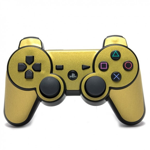 PlayStation 3 Controller STEEL Gold Skin