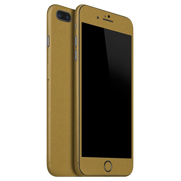 iPhone 7 Plus STEEL Gold Skin