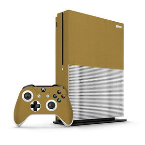 Xbox One S STEEL Gold Skin