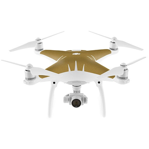 DJI Phantom 4 STEEL Gold Skin