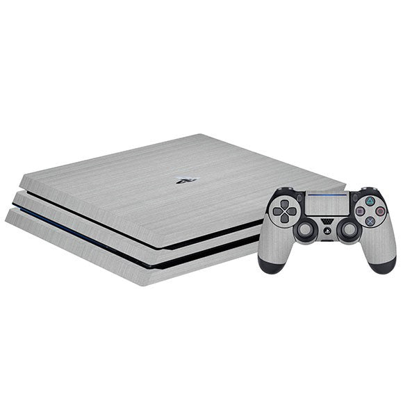 PlayStation 4 Slim STEEL Silver Skin