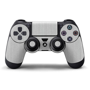 PlayStation 4 Controller STEEL Silver Skin