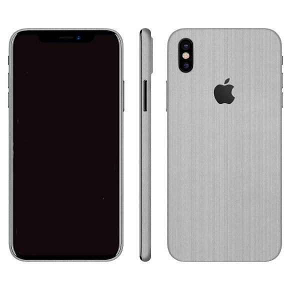 iPhone X STEEL Silver Skin
