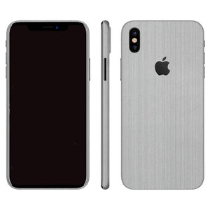 iPhone X STEEL Silfurhúð