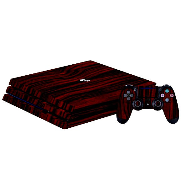 PlayStation 4 Pro WOOD Ebony Skin