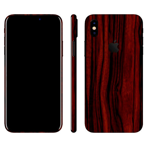iPhone X HOUT Ebbehout Vel