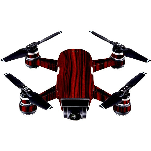 DJI Spark WOOD Ebony Skin