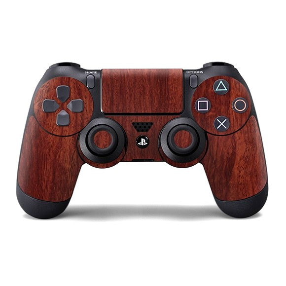 PlayStation 4 Controller WOOD Mahogany Skin