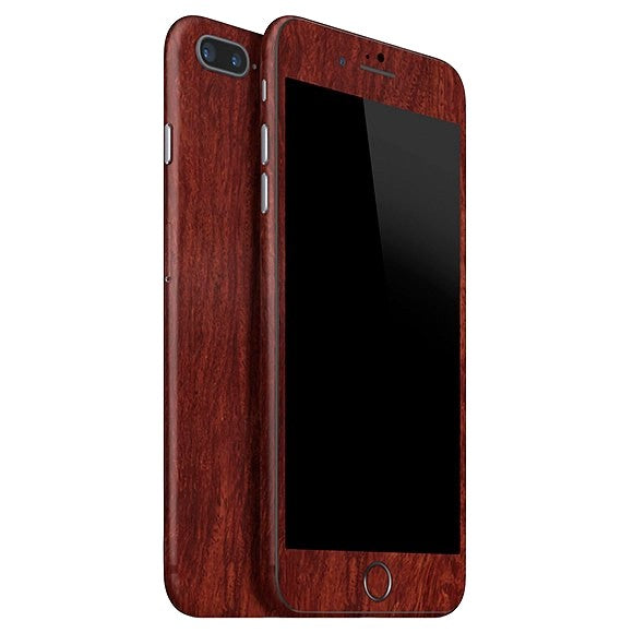 iPhone 8 Plus WOOD Mahogany Skin