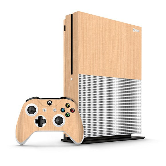 Xbox One S WOOD Maple Skin